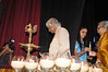 Dr APJ Abdul Kalam lighting the diya on the stage