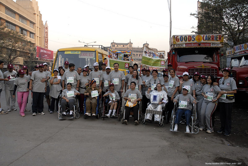 The participants, volunteers and helpers