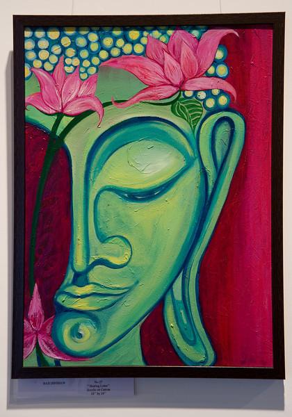 Healing Lotus by Baji Dinshaw