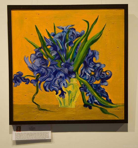 Irises re-ignited by Manali Padhey