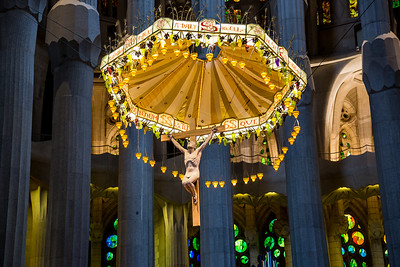 Sagrada Familia, Gaudi, Barcelona 2014