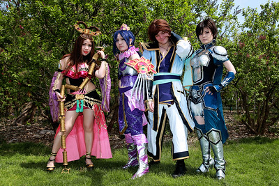 Diao Chan, Zhang He, Sima Zhao, & Wang Yi