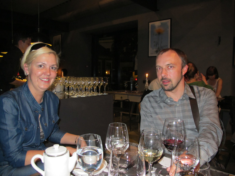 Ilona Muceniece, Brand Manager of Pierre Vallet in Latvia and Kait Liinev, Partner of Jungent