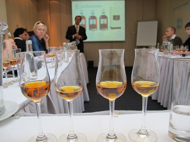 VS, VSOP, XO and Extra presented in Tulip glass