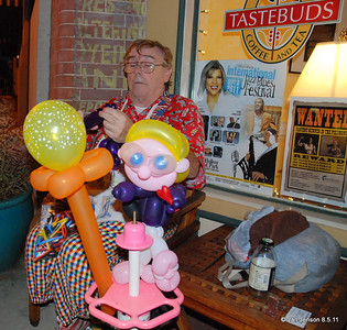 Michael Decker and more balloon creations! Michael has even performed at the White House in Washington, D.C.
