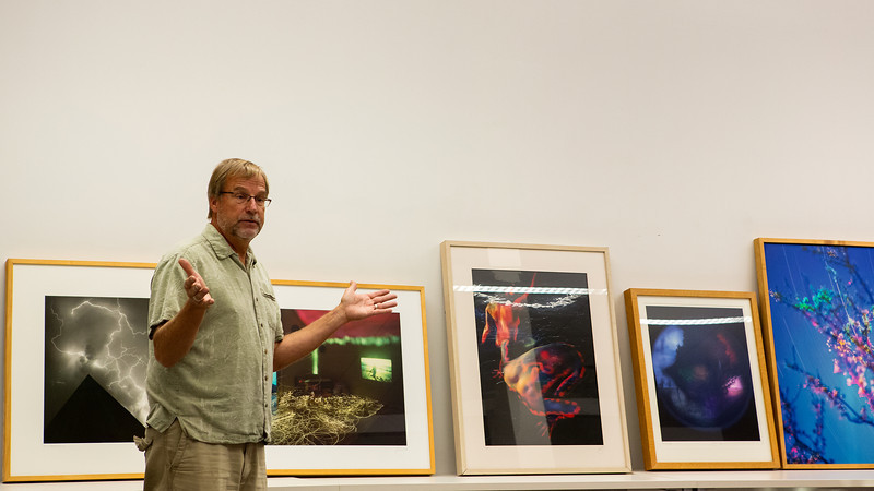 David Kadlec, fine art photographer, owner and curator of Jacksson Contemporary Art presents at IUCA+D