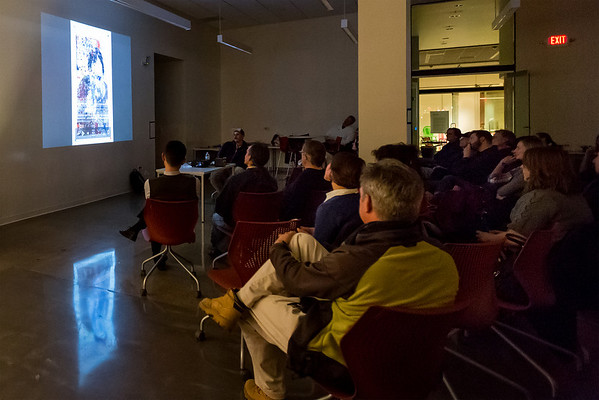 Tre Reising presents at IUCA+D in the Salon Talk Series