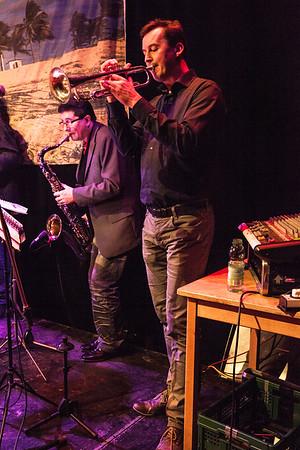 Salsafeest Salsaschool Sabroso Amsterdam, december 2015