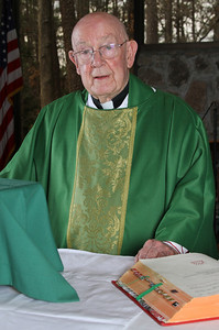 After attending seminary at Mount Saint Mary's University, Emmitsburg, Md., Monsignor R. Donald Kiernan was ordained May 4, 1949.