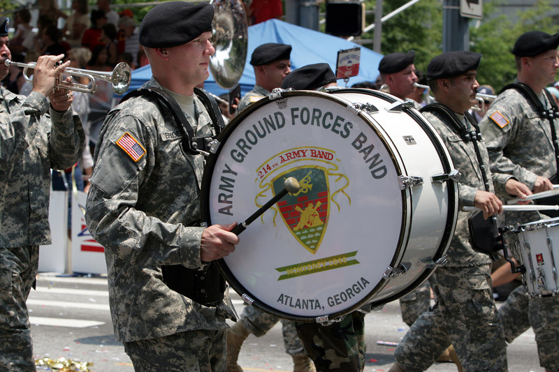 The 214th Army Ground Forces Band from Atlanta Georgia