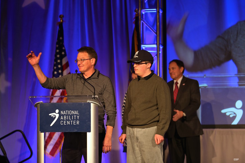 SALT LAKE CITY, UT - November 13, 2015:  National Ability Center Saluting Our Heros (Photo by Claire Wiley)