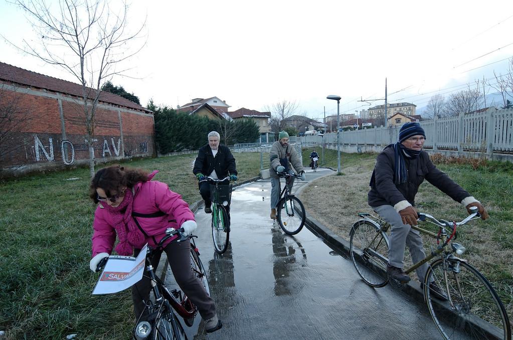 pista ciclabile Stazione Ferroviaria - zona scuole