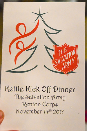 Salvation Army Kettle Kickoff Dinner