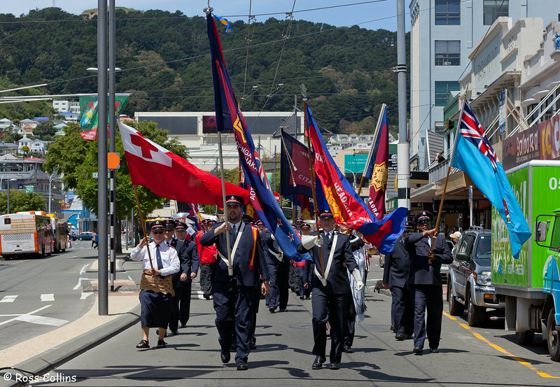 Salvation Army Commissioning Street March, Wellington, 10 December 2011