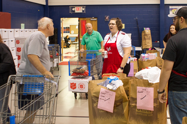 Salvation Army Volunteer Day