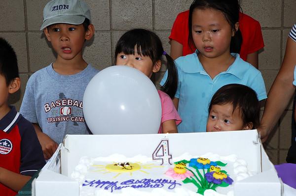 Sammy's 4th Birthday