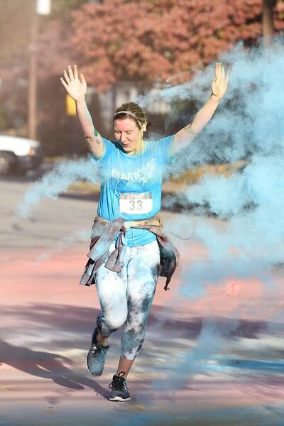 Sampson Arts Council Color Run - 2016-11-05