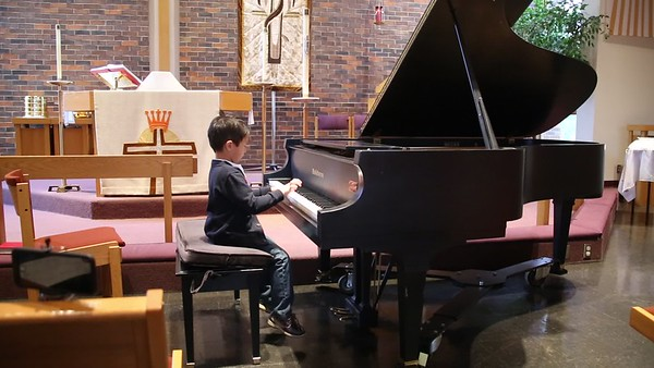 Sam's 4th Piano Recital Video 2 of 2
