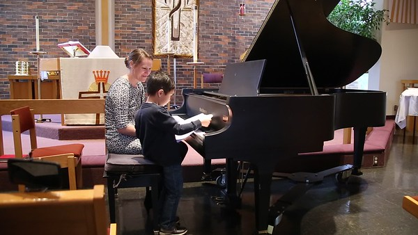 Sam's 4th Piano Recital Video 1 of 2