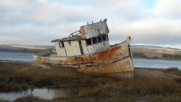 Point Reyes shipwreck.