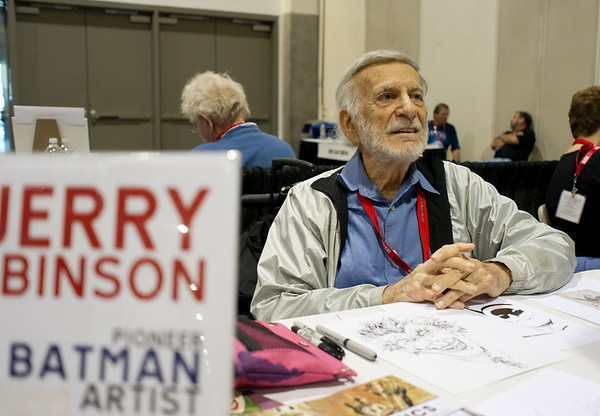 The Joker. Jerry Robinson created the Batman series character.