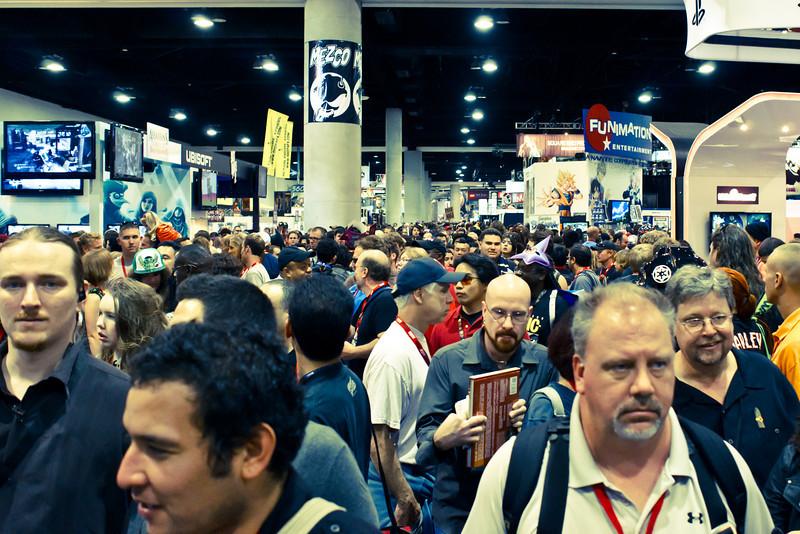 Day Three Exhibit Hall Crowd
