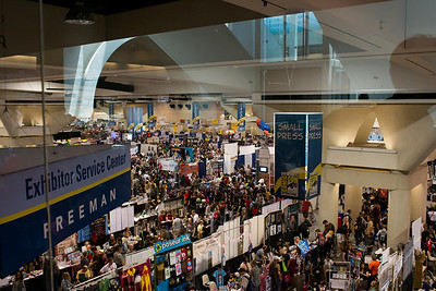 Exhibit Hall Crowd Day Four Too