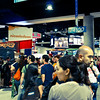 Day Two Exhibit Hall Crowd. I would estimate three times as many people as Day One.