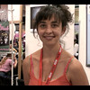 Molly Storyteller. My two photos were crap. This is a screen snap of the video interview I shot of Molly.