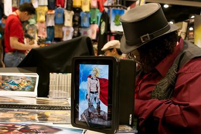 iPad Comics. Apple's tablet was everywhere at San Diego Comic-Con 2010.