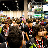 Day Three Exhibit Hall Crowd Too