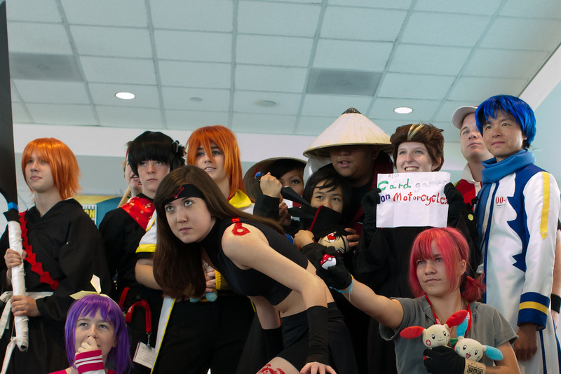 Cosplayers Too. This is a different crop of a near identical photo.
