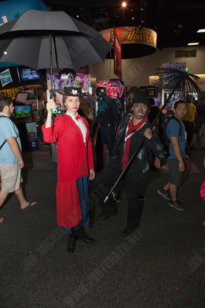 Mary Poppins costumes, didn't expect to run into that!