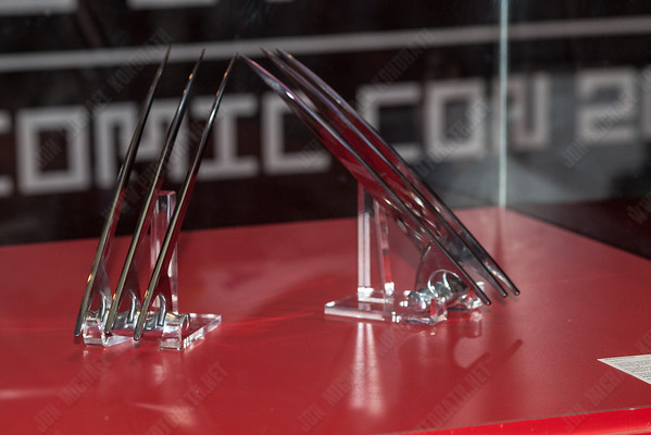 Wolverine claws made by Tony Swatton, Man at Arms.