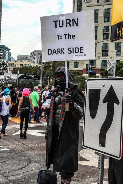 Turn to the Dark Side!