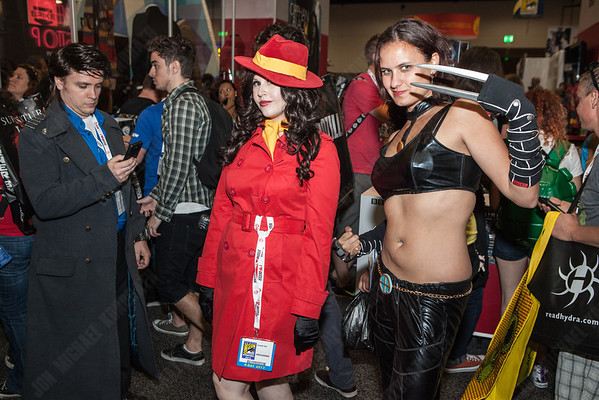 Where in the world is Carmen San Diego?  Well in San Diego, for Comic Con.