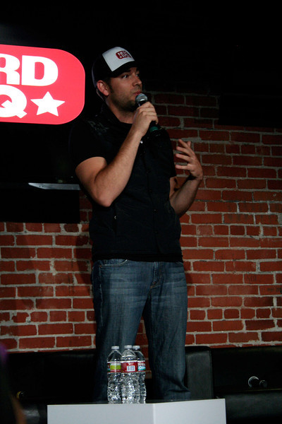 Zachary Levi introduces the Firefly panel at NerdHQ