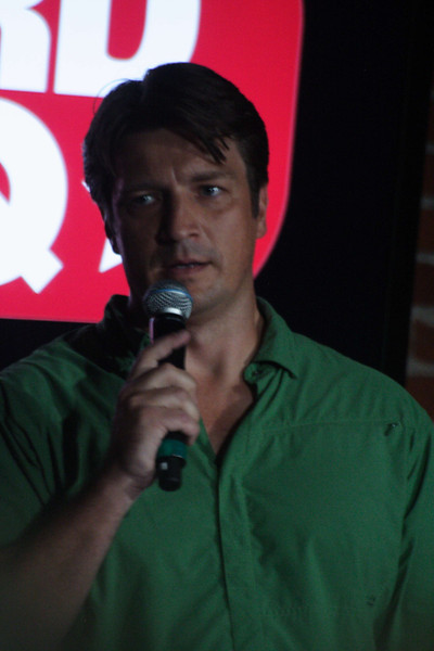 Nathan Fillion's panel at NerdHQ