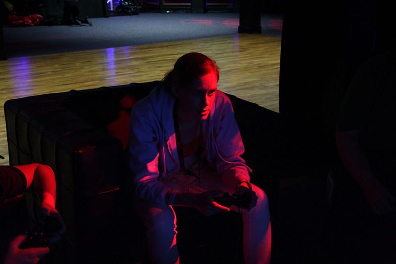 Me playing Rayman Origins at the Nerd Tweetup at NerdHQ
