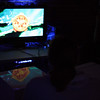 Me playing Rayman Origins at the Nerd Tweetup at NerdHQ