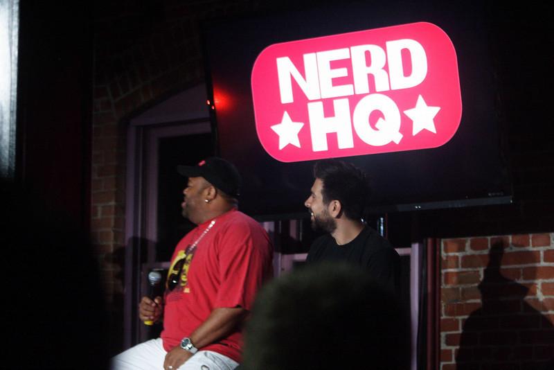 Zachary Levi's panel at NerdHQ