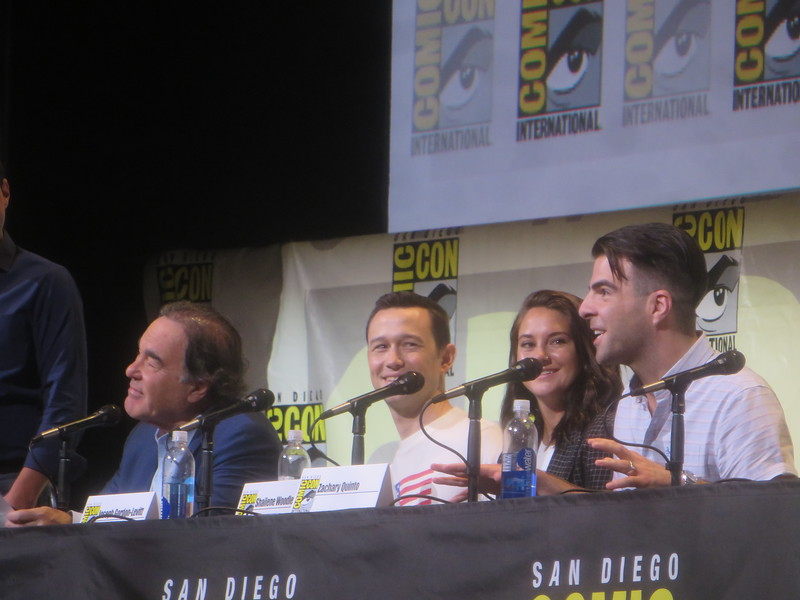 SNOWDEN panel brings Joesph Gordon-Levitt, Shailene Woodley, and Zachary Quinto to #SDCC