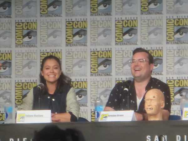 'Orphan Black' makes farewell visit to #SDCC
