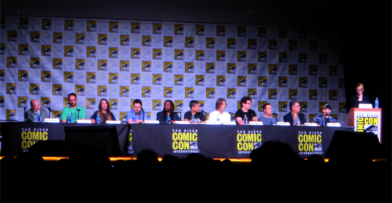 Jack McBrayer and Katey Sagal surprise cast announcements at 'Big Bang Theory' panel – #SDCC