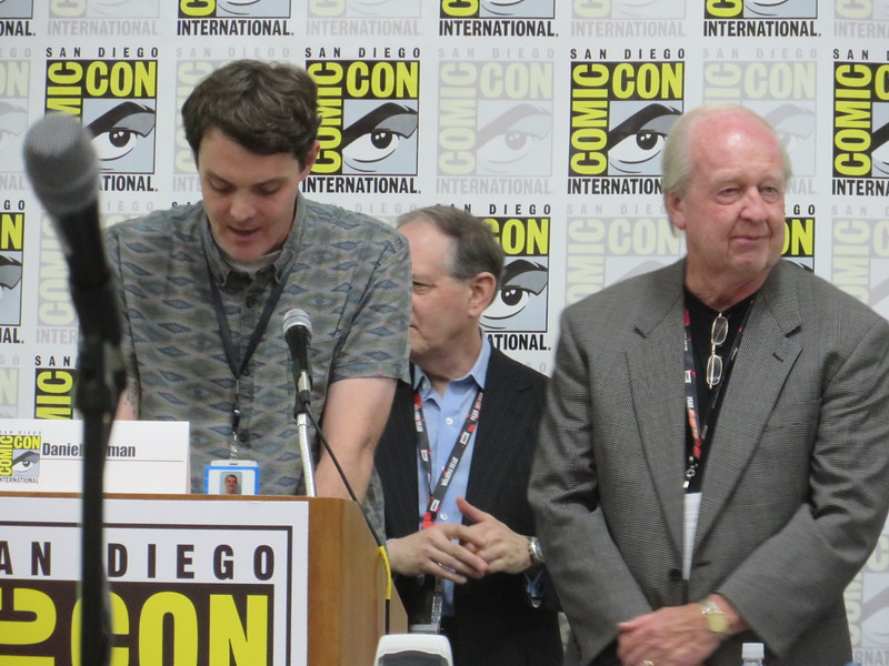 Surprise moment: Garfield creator Jim Davis honored with #SDCC Inkpot Award