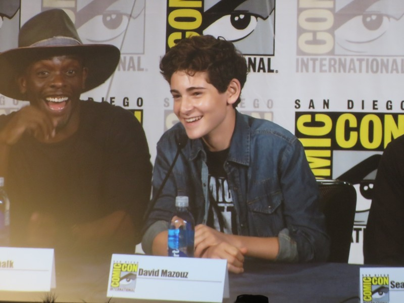 Basically ALL of the cast of GOTHAM came to #SDCC and it was awesome!