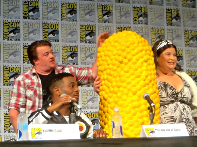 #SDCC HIGHLIGHT: Back to the 90's, Nickelodeon's 'All That' mini reuniuon plus 'Legends of the Hidden Temple'