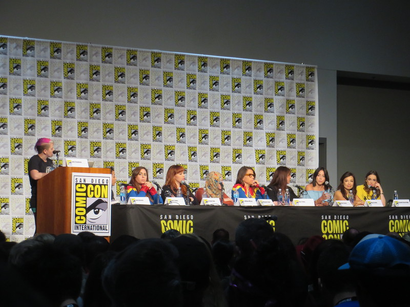'Women of Marvel' panel included insights from women in comics and in AGENTS OF SHIELD – #SDCC