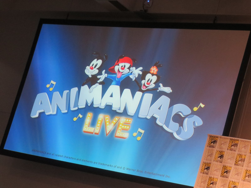 "The ""Animaniacs Live!"" reunion basically turned me back into a seven year old – #SDCC"