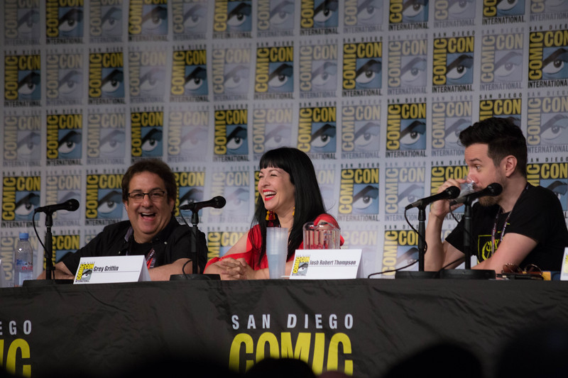 CARTOON VOICES always prove to never judge a book by its cover #SDCC
